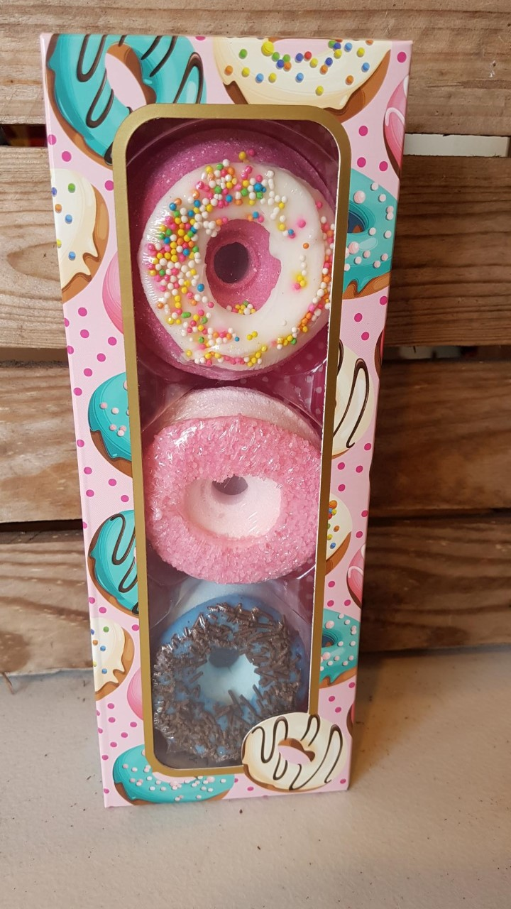 Bath Bomb Donuts